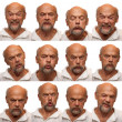 Stock Photo: Expressions - Senior Aged Man