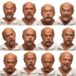 Expressions - Senior Aged Man — Stock Photo