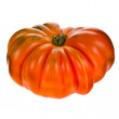Stock Photo: Big red tomato RAF close-up isolated on white background