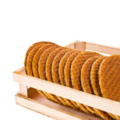 Ronda waffles rubicunda — Foto de Stock