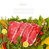 Fresh meat — Stock Photo