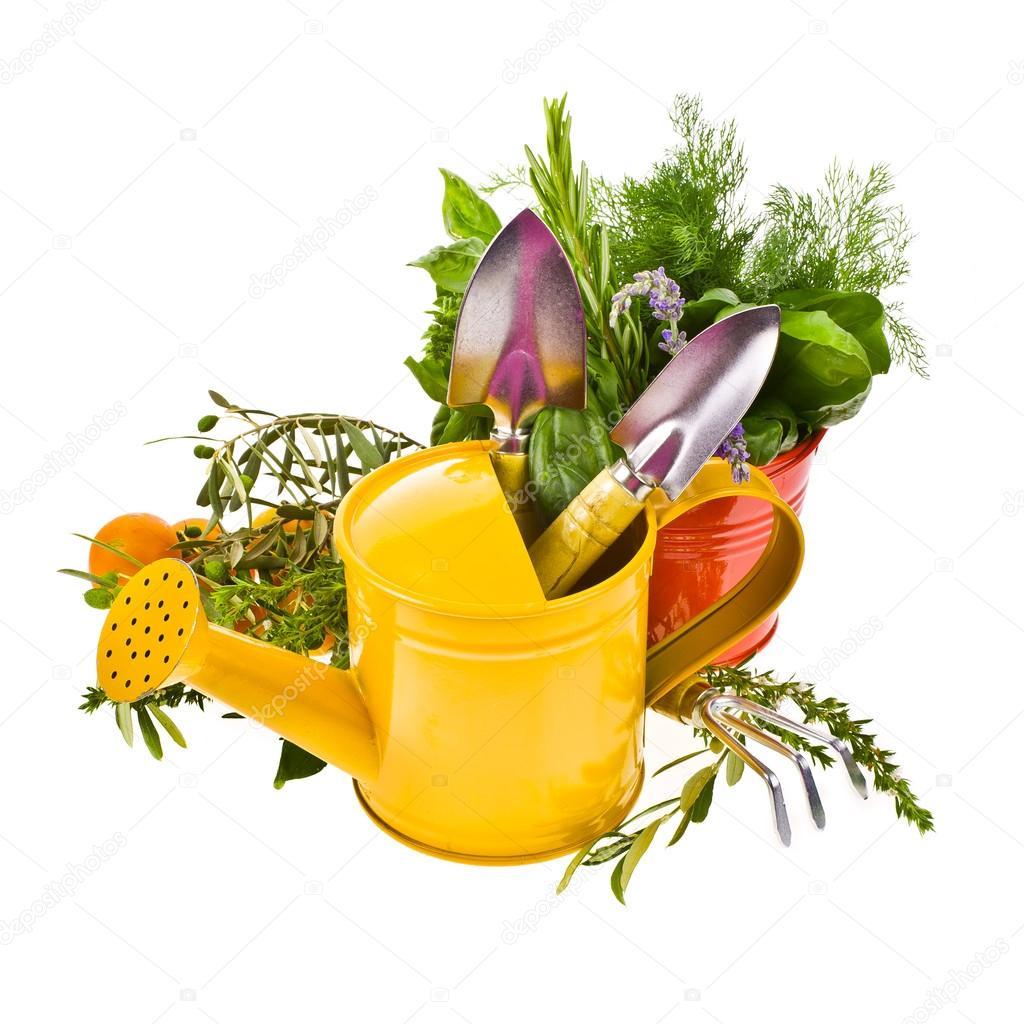 Sujet du jardinage outils pour travailler dans le jardin for Sujet decoratif pour jardin