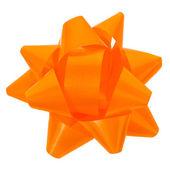Closeup ribbon bow for gift box — Stock Photo
