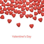 Valentine's Day - small glittering figure — Foto Stock