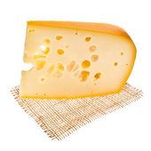 Emmental cheese piece — Photo