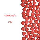 Valentine's Day - small glittering figure — Stock Photo