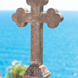 Old stone cross — Foto de stock #27541977