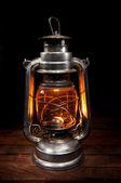 Antique Oil Lamp — Stock Photo