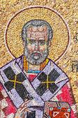 Mosaic of Saint Nicholas — Stock Photo