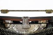 Vintage manual typewriter — Stock Photo