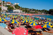 Small Beach in Ulcinj - Montenegro — Stock Photo
