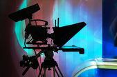 Kamery telewizyjnej — Zdjęcie stockowe