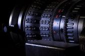 Video camera lens — Stock Photo