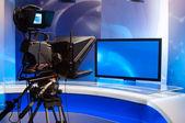 Television Studio — Stock Photo