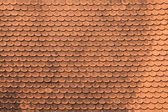 Red tiles roof — Stock Photo