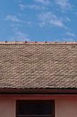 Alte dach — Stockfoto