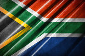 South Africa flag — Stock Photo