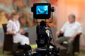 Talk-show — Fotografia Stock