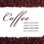 Coffee frame — Stock Photo #27601381
