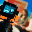Television studio — Stock Photo
