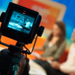 Stock Photo: Television studio