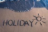 Holiday — Zdjęcie stockowe