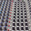 Pro audio mixing board — Stock Photo
