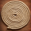 Old paper and rope — Stock Photo
