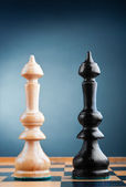 Two chess kings — Stock Photo