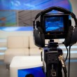 Television studio camera — Stock Photo #29417789