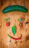 Healthy Organic Vegetables — Stockfoto