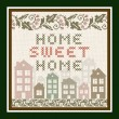 Home Sweet Home Vintage Background — Stock Vector #28103751