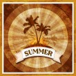 Summer tropical holiday background — Stock Vector #29642267