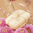 Handmade Flower Soap — Stock Photo