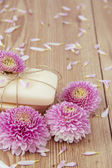 Flower Soap — Stock Photo