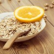 Stock Photo: Healthy Muesli Breakfast