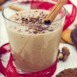 Christmas Milkshake — Stock Photo