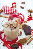 Kerstmis milkshake — Stockfoto