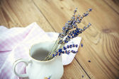 Lavender in Vase — Stock Photo