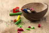 Lápices de colores multicolores — Foto de Stock