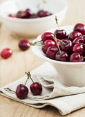 Red cherries — Stock Photo