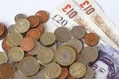 British Sterling Pounds. — Stock Photo