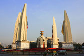 Monument Democracy at Bangkok in Thailand. — Stock Photo