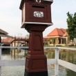 Red thai mail box — Stock Photo