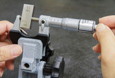 Calibration micrometer — Stock Photo