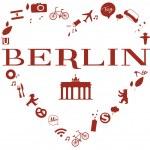 Heart of Berlin — Stock Photo #27550301