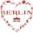 Heart of Berlin — Stock Photo