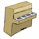 Piano — Stock vektor