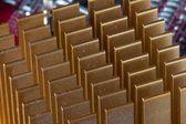 Кулер деталь Золотой материнской платы — Стоковое фото