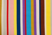 красочные текстильных полос текстуры — Стоковое фото